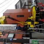 杉並区南荻窪:工務店さんの袖看板3台撤去