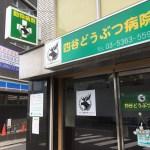 新宿区荒木町:動物病院さんの看板リニューアル