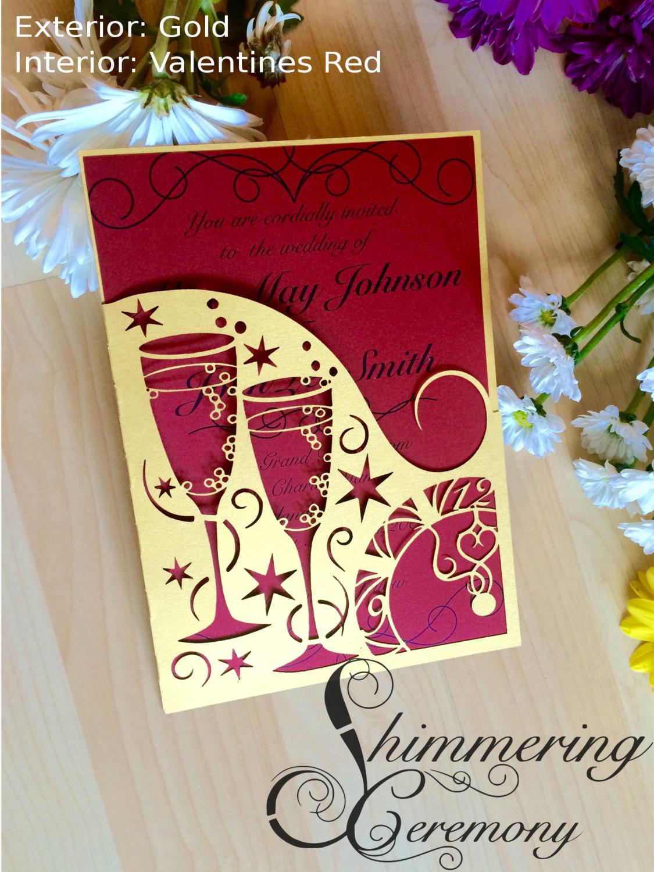laser-cut-new-years-eve-party-invitation-cut-pocket-midnight-wedding ...