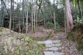 瓶割山(長光寺山)御沢ルート-登り口