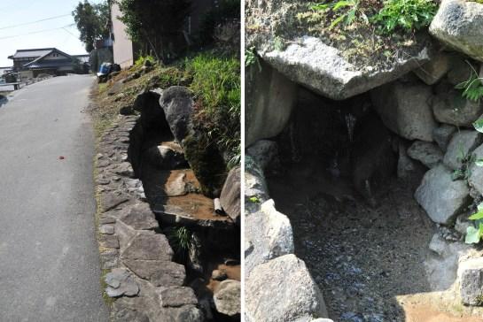 古い時代の暗渠も現役