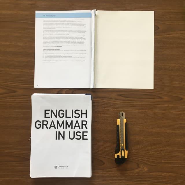 english grammar in use_使い方