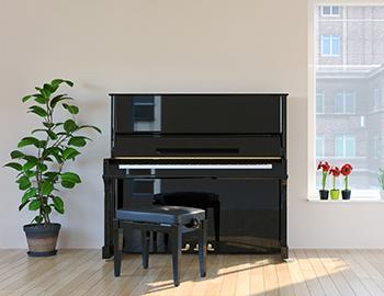 住まいの床のフローリング上にピアノなどの重量物を置く際には床下地補強や耐久性などが強いフローリングを選ぶなど対策が必要です