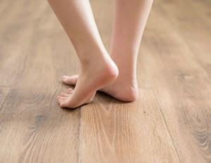 長野市床暖房設置の温度、温かさ足元の熱さ