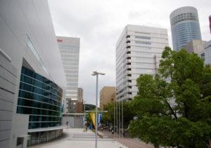 横浜アリーナの正面玄関付近は封鎖し観客入場スペースを設ける構想