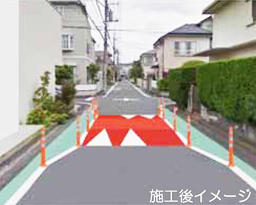 住宅街の生活道路を守れ、大倉山で車のスピードを落とさせる画期的な実証実験