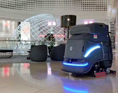 新横浜1丁目のマクニカ、デリバリーロボに次ぎ「自動清掃ロボット」も取り扱い
