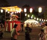 菊名ハイツの盆踊り