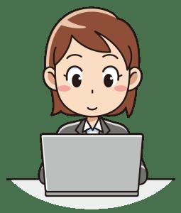 パソコン女子
