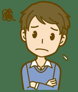 困り顔(男)