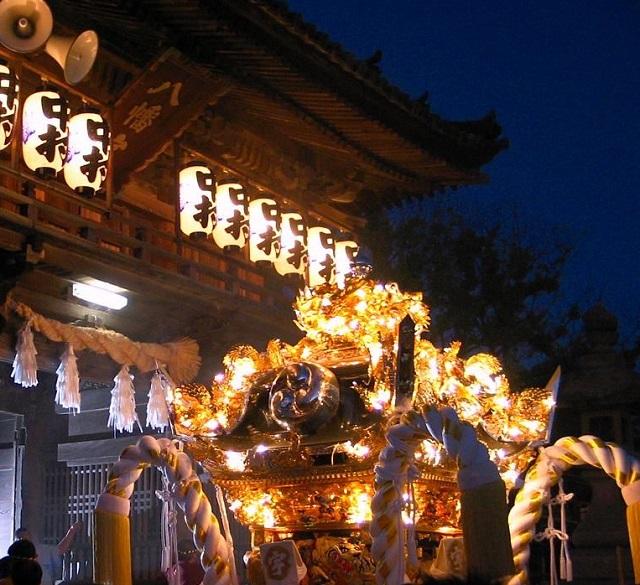 播州秋祭りのお神輿