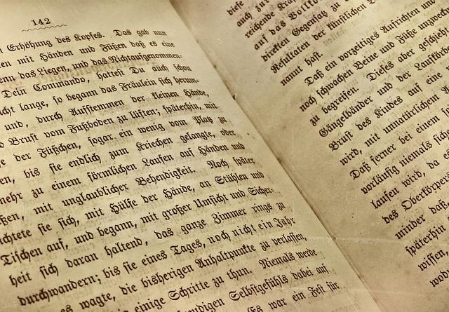 外国語の古い本