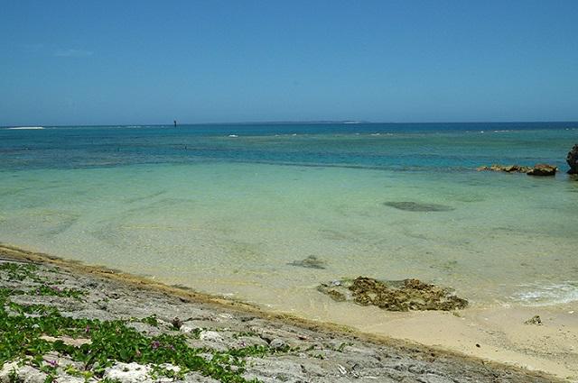 綺麗な沖縄の海