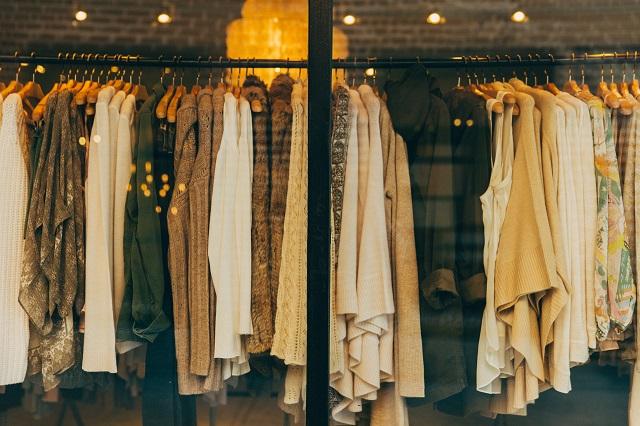 洋服のショップ