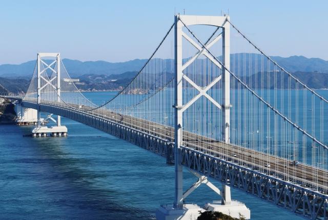 徳島の大鳴門橋
