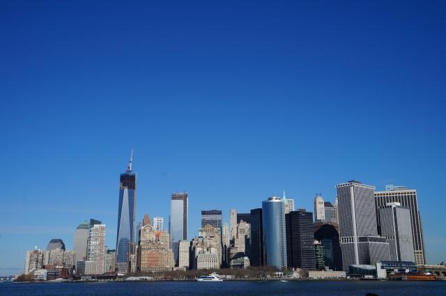 ニューヨークの町並み