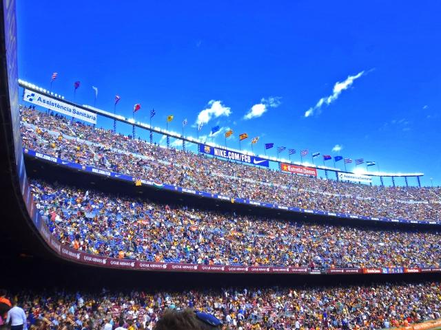 FCバルセロナのカンプノウスタジアム