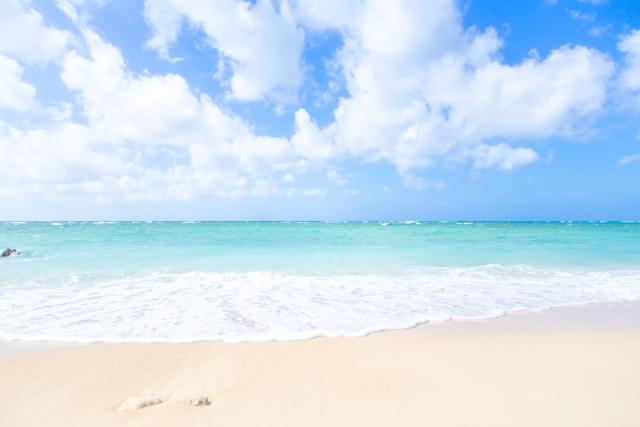 沖縄の綺麗なビーチ
