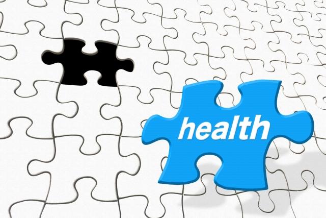 healthと書かれたパズルのピース