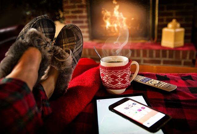 冬でも暖かい部屋