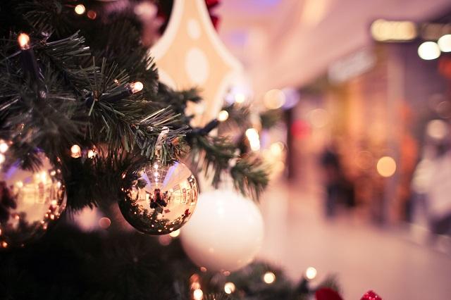 街のクリスマスツリー