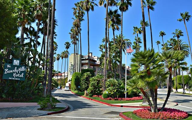 カリフォルニアのロサンゼルスの街