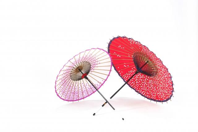 2つの和傘