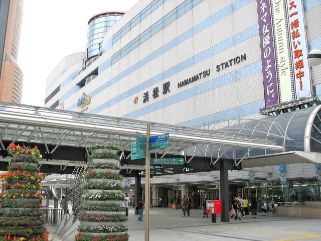 浜松駅の様子