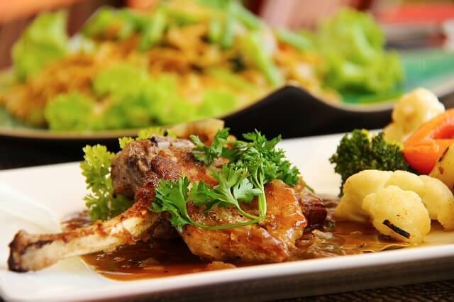 ラム肉の料理