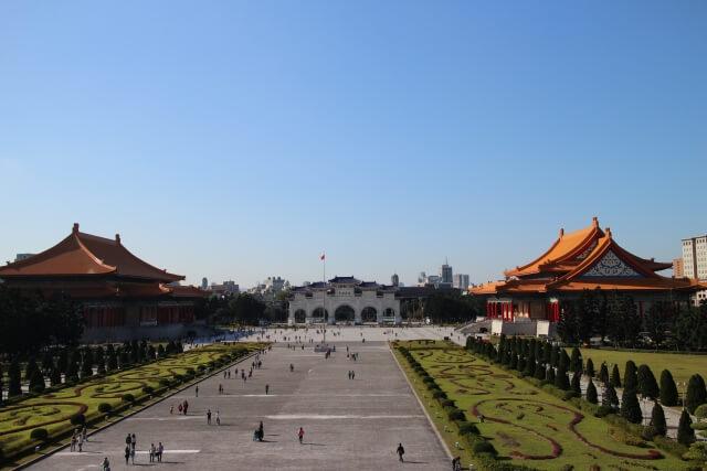 台湾の中正紀念堂