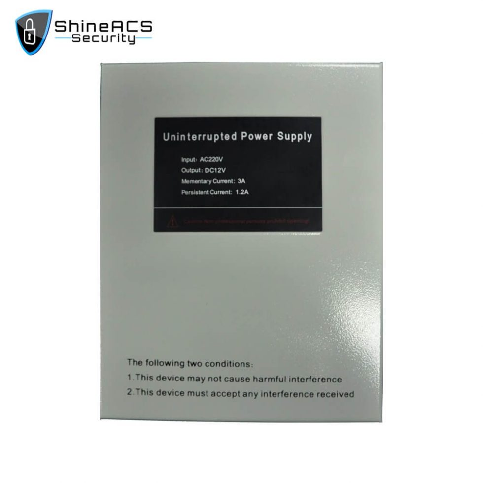 Access Control Power Supply SP 94L 1 980x980 - 3A Semi Uninterrupted Access Control Power Supply