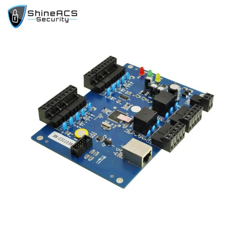 Access Controller Main Board SA B02 980x980 - TCP/IP Access Controller Board