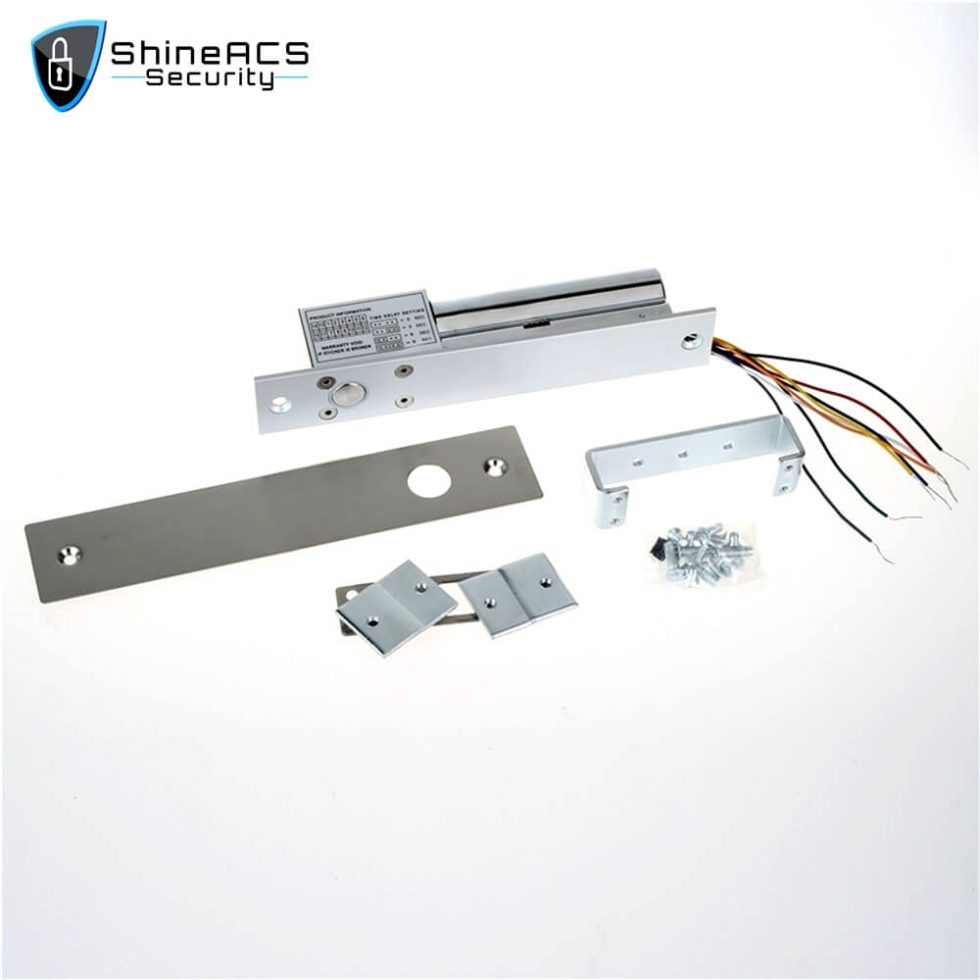 Electric Bolt Lock Door And Lock Cylinder Signal SL E200SLD 1 980x980 - Electric bolt lock installation on glass door SL-E200SLD