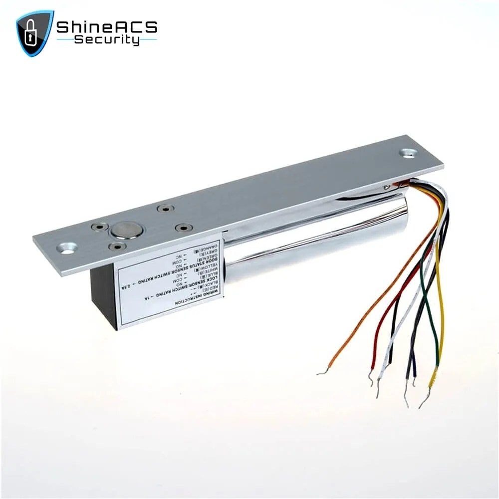 Electric Bolt Lock Door And Lock Cylinder Signal SL E200SLD 3 - ShineACS Access Control Products