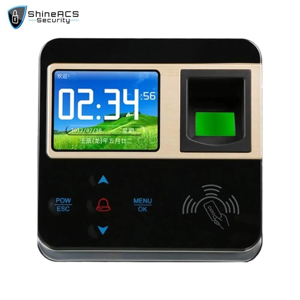 Fingerprint Time Attendance ST F211 1 - ShineACS Access Control Products