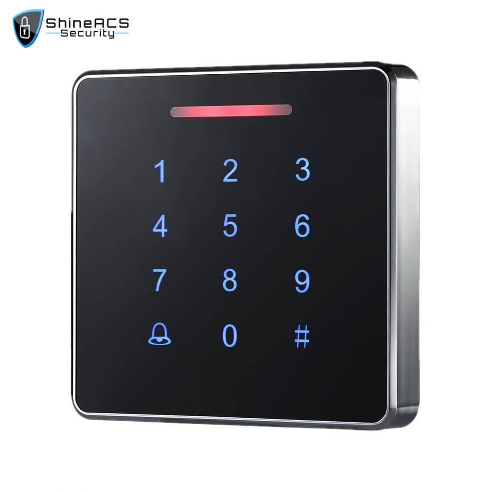 Metal Touch Access Control Standalone device SS K86TK 1 980x980 - Touch Access Control Standalone Device SS-K86TK