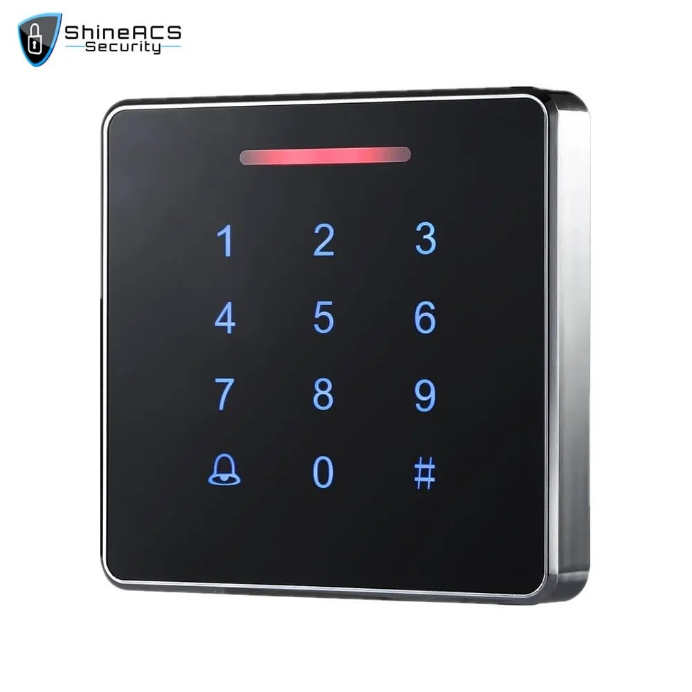 Metal Touch Access Control Standalone device SS K86TK 1 - ShineACS Access Control Products