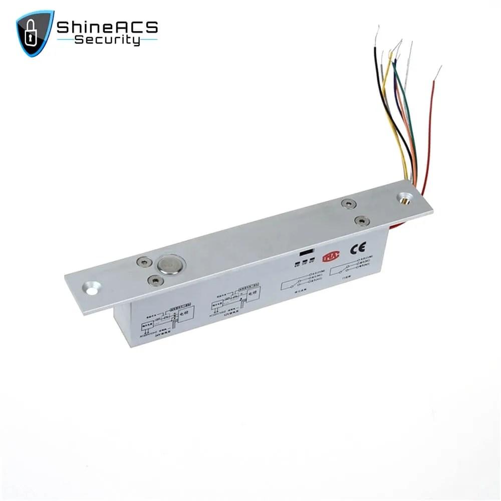 Narrow Panel Electric Bolt lock SL E153SLD 4 - ShineACS Access Control Products