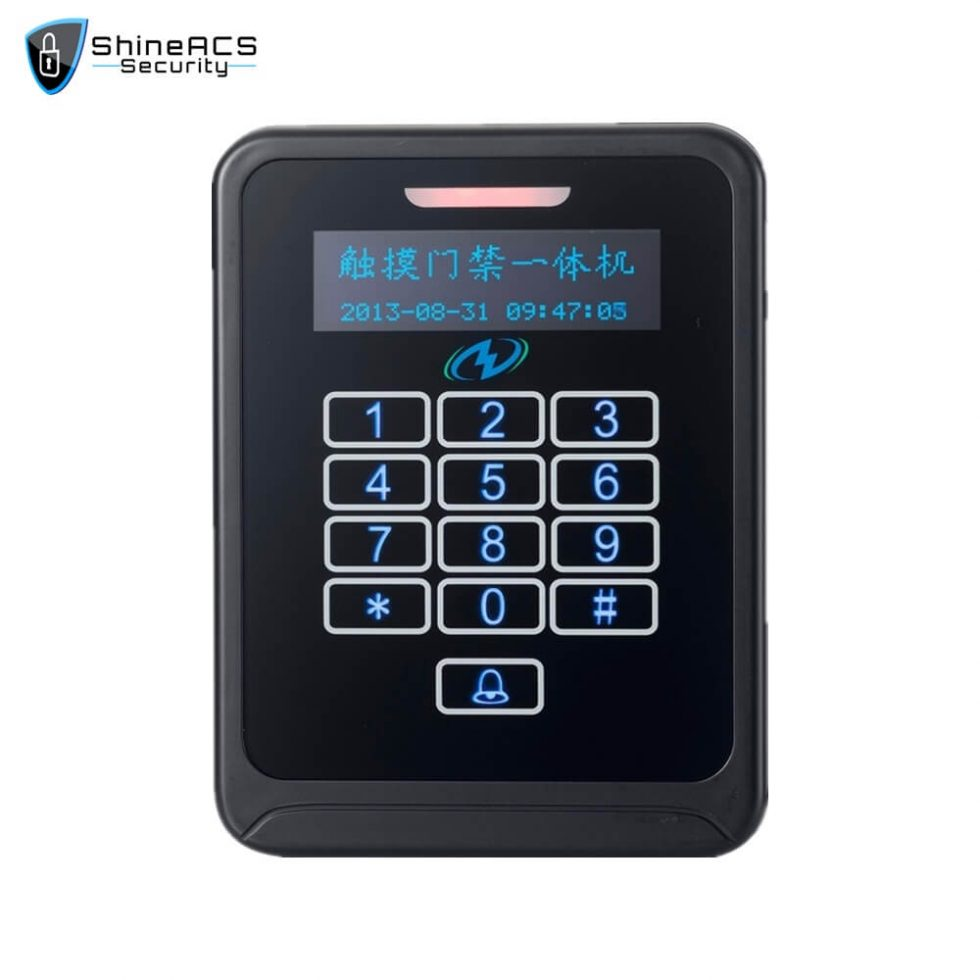 Touch Access Control Standalone Device SS K08TK 2 980x980 - Touch Access Control Standalone Device SS-K08TK