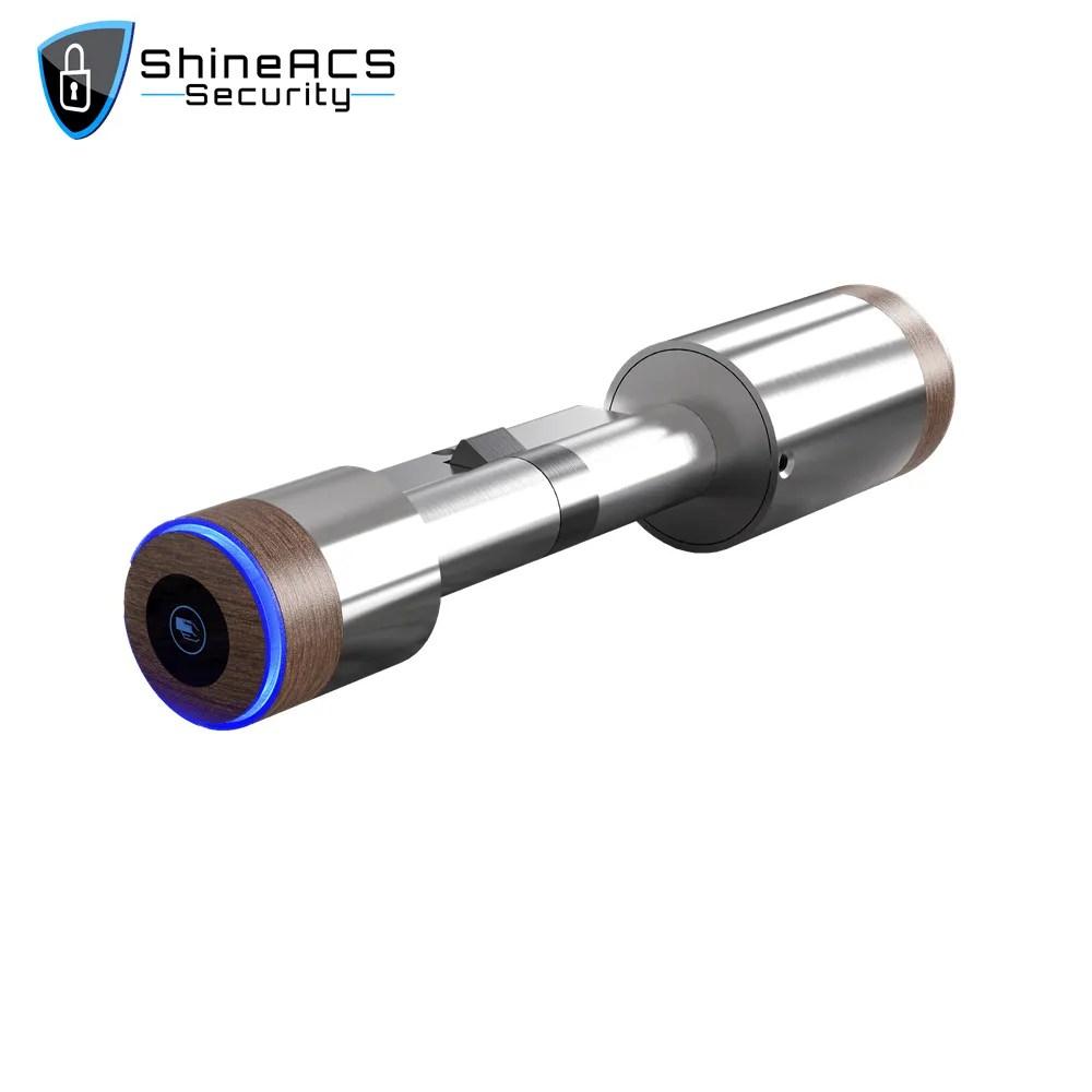 Smart lock cylinder SL C75 1 - Fingerprint/IC/NFC/BT Smart super lock cylinder