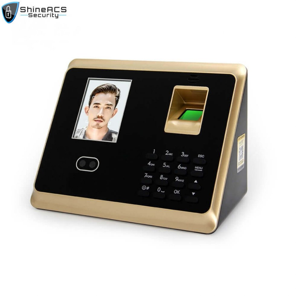 Face and fingerprint time attendance device ST F007 1 980x980 - time attendance system biometric machine terminal ST-F007