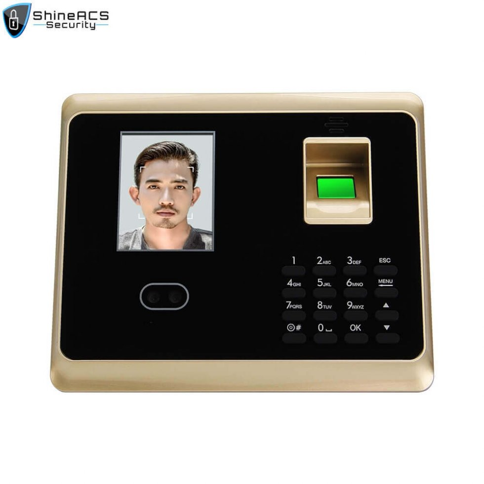 Face and fingerprint time attendance device ST F007 2 980x980 - time attendance system biometric machine terminal ST-F007