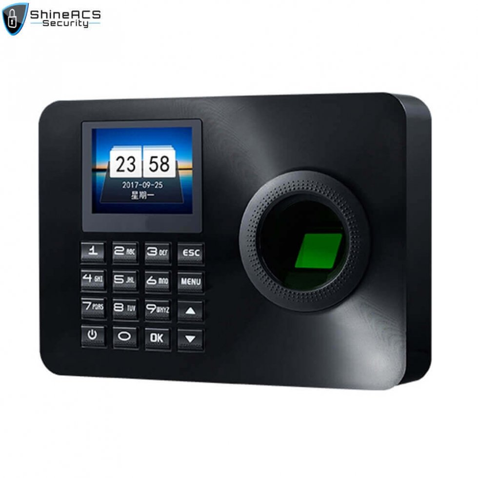 Fingerprint Time Attendance ST F001 980x980 - Fingerprint Time Attendance Terminal ST-F001(4G Optional)
