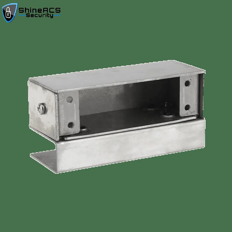 KJL100D 3 - Glass Door Electric Drop Bolt Lock Bracket SL-B100D