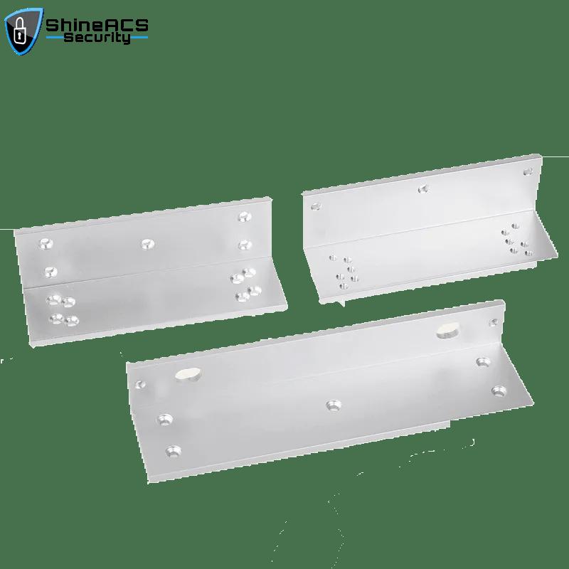 SL B180ZL 1 - Maglock Brackets For Frameless Glass Door Maglock SL-B180ZL