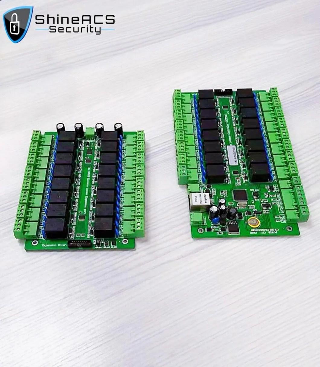 SA F16 16 Zemin Asansör Kumanda Uzatılmış 2 - ShineACS Geçiş Kontrol Ürünleri