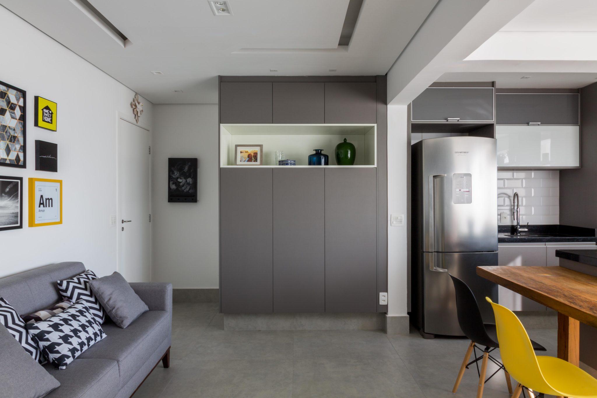 Apartamento Estilo Industrial  Shine Braga
