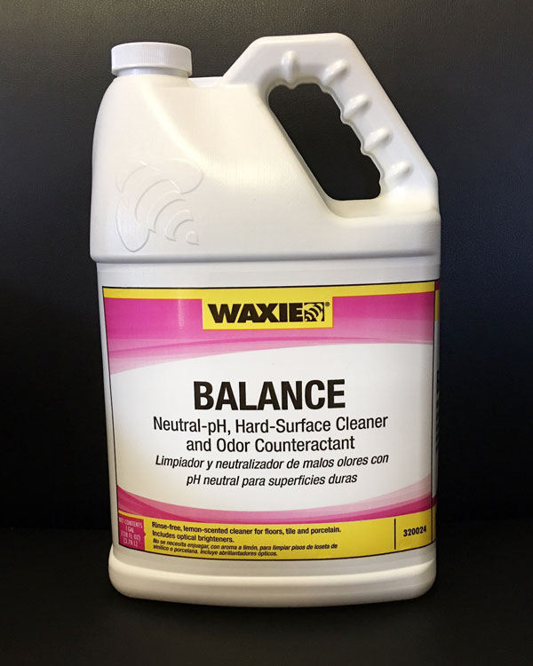 Balance - This powerful floor cleaner contains cleaning agents and optical brighteners and will not harm or dull floors. Rinse-free and non-toxic with a light lemon scent!