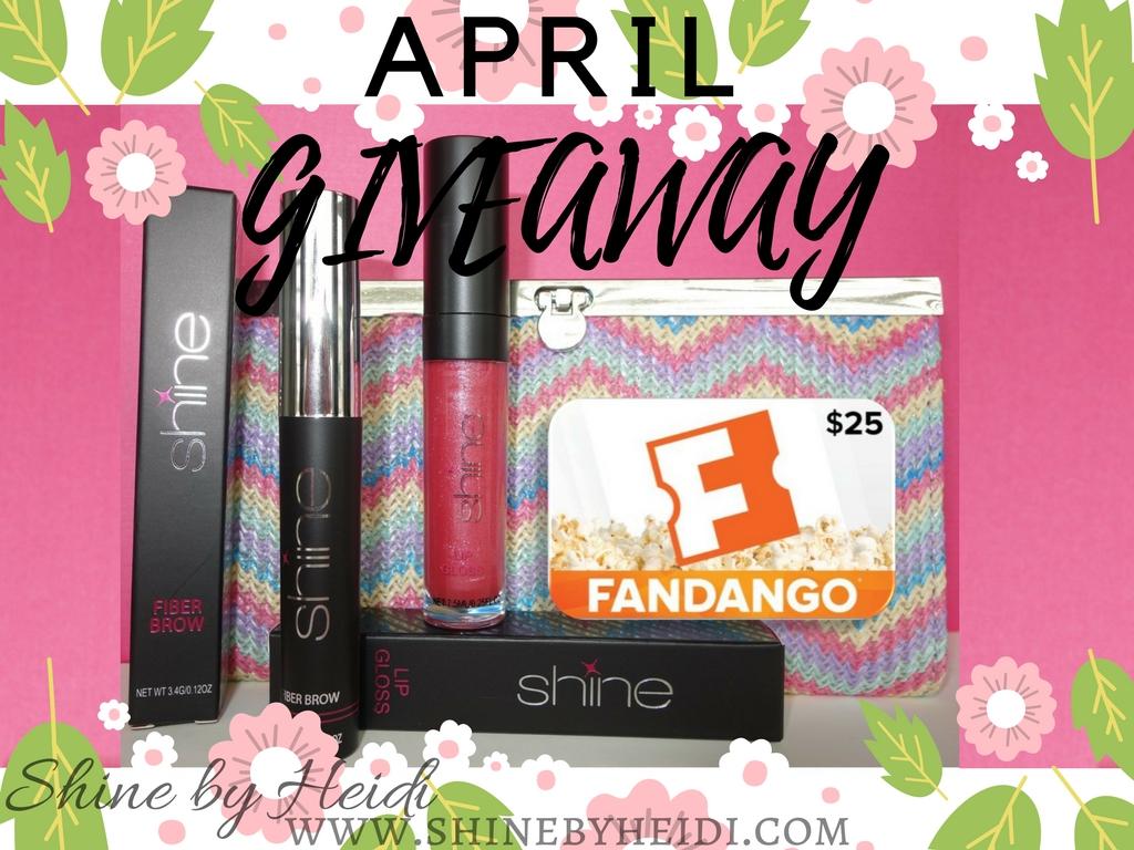 April Giveaway Shine by Heidi