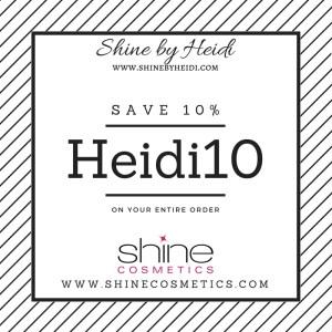 10% off entire Shine order